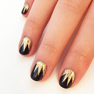 Gatsby-Inspired Nail Art