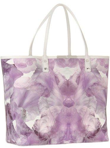McQ - Medium Tote (Eggshell/Iris) - Bags and Luggage