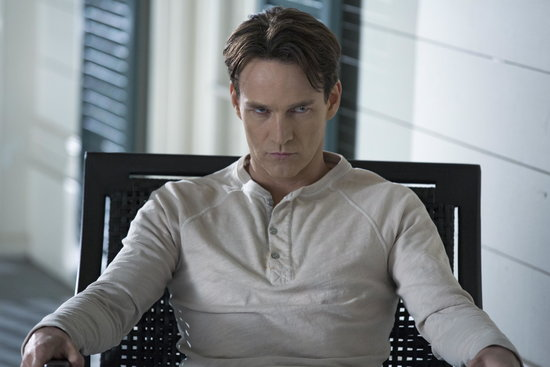 Stephen Moyer as Bill on True Blood.