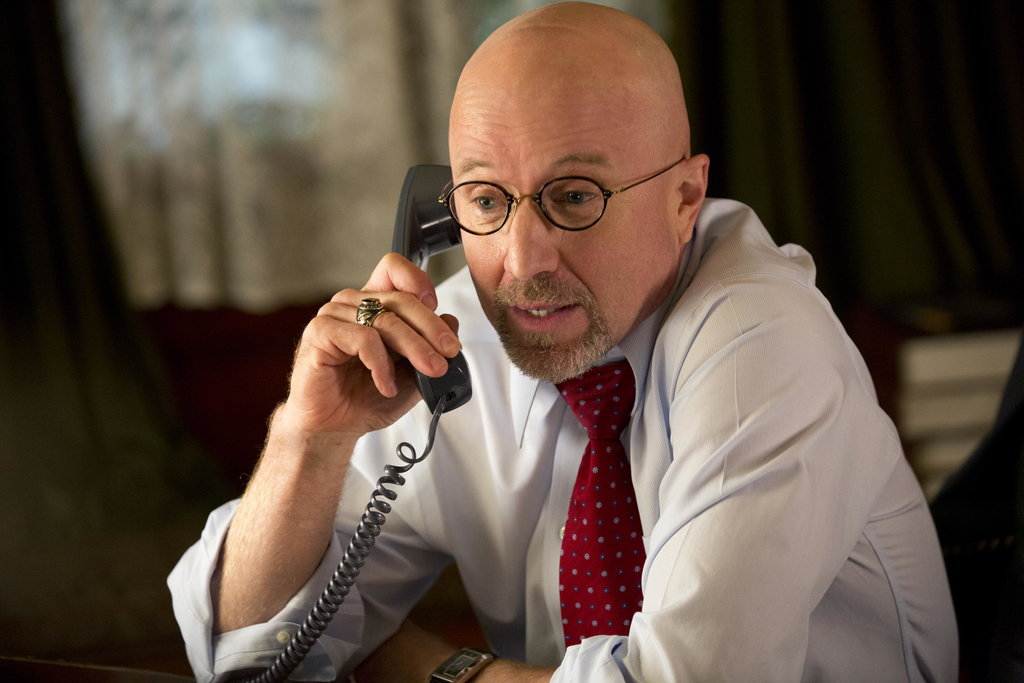 Arliss Howard as Gov. Truman Burrell on True Blood.