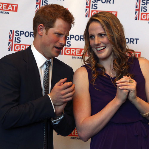 Prince Harry and Missy Franklin in Denver | Photos
