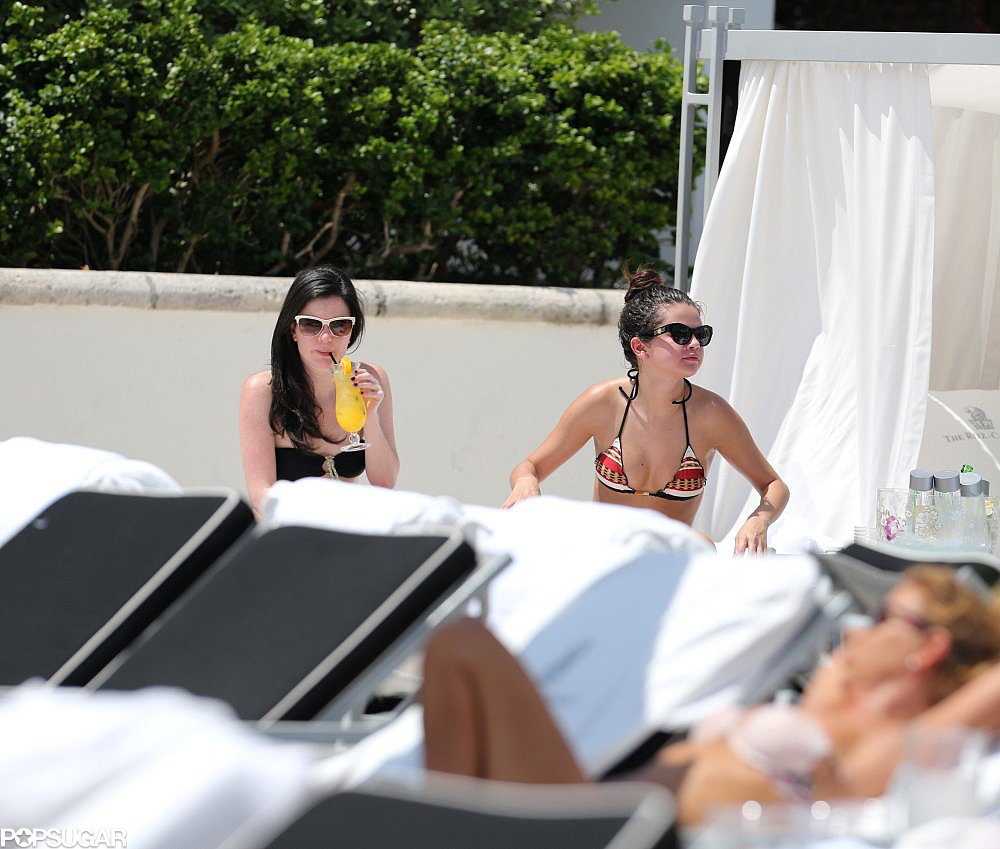 Selena Gomez Breaks For Bikini Time in Miami