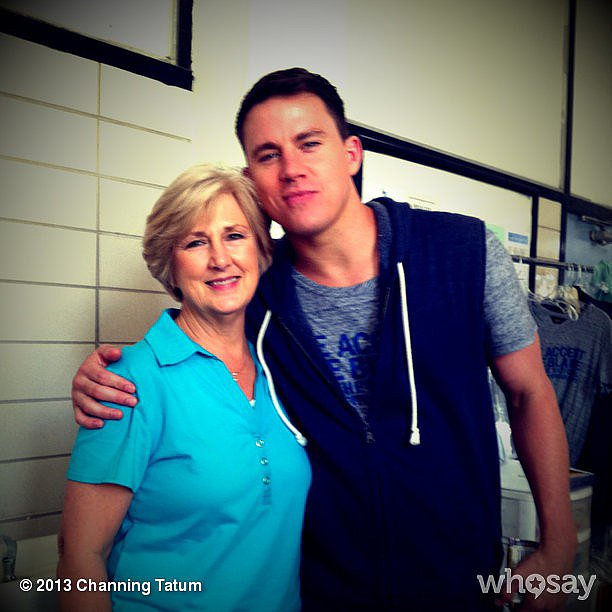 Channing Tatum shared a photo of himself with his mom and sent out Mother's Day love to his wife Jenna Dewan-Tatum. Source: Instagram user channingtatum