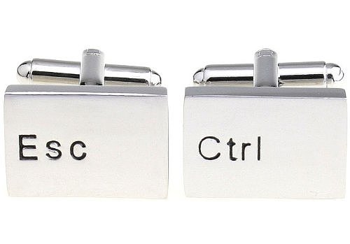Computer Keys Cuff Links