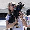Kristen Bell Out With Her Dog in LA