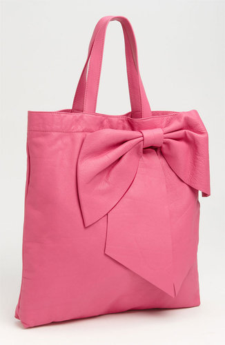 RED Valentino 'Bow' Leather Tote