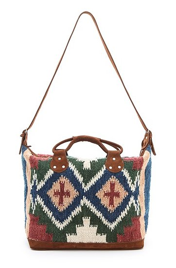 A bohemian gal will appreciate the detailed design on this Stela 9 Isabel weekender ($275). We love that it features a convenient crossbody strap, too.