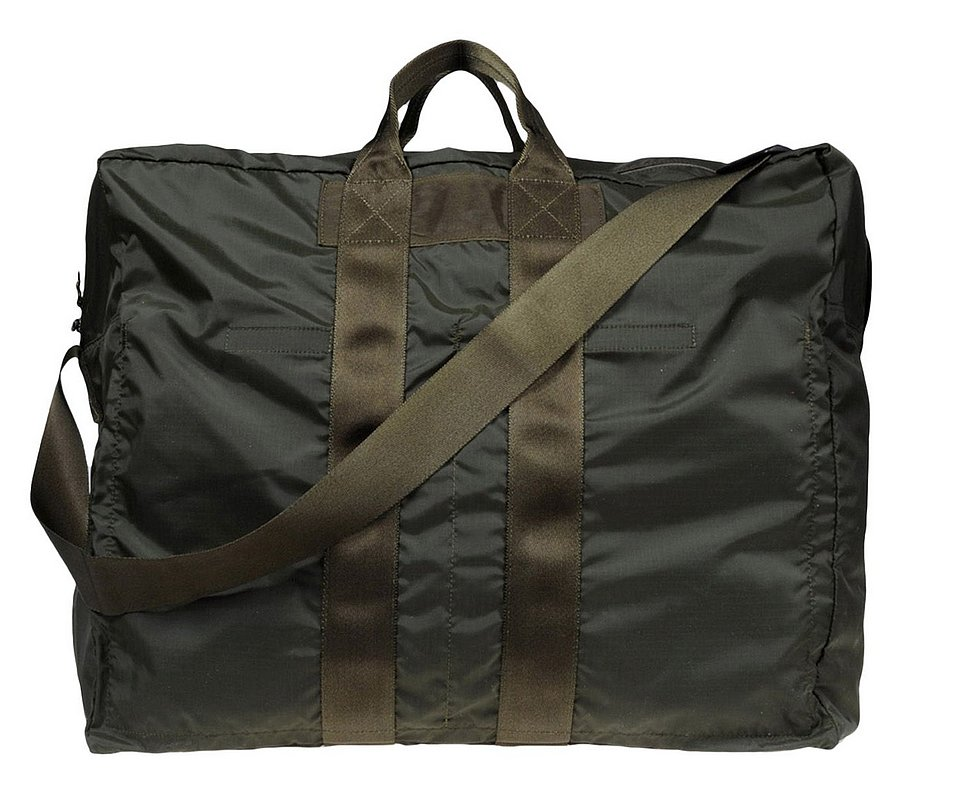 This Porter techno fabric duffel bag ($535) will give you that cool-girl, utilitarian vibe.