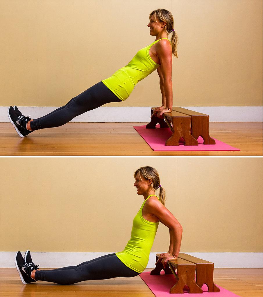 7. Triceps Dips