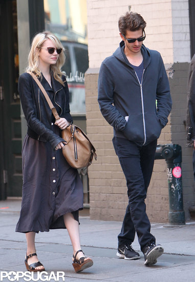 Andrew Garfield and Emma Stone strolled through NYC together.
