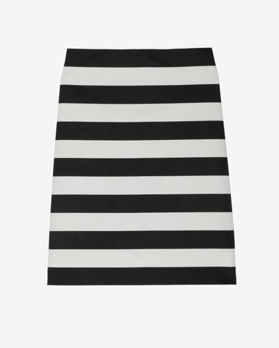Robert Rodriguez Exclusive Striped Pencil Skirt