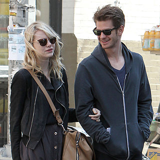 Andrew Garfield With Emma Stone Between Spider-Man Filming