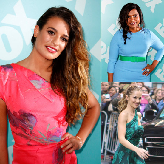 TV Ladies Go Bright For the Fox Upfronts in NYC