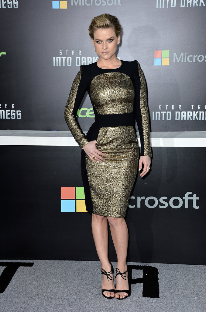 Alice Eve attended the premiere.