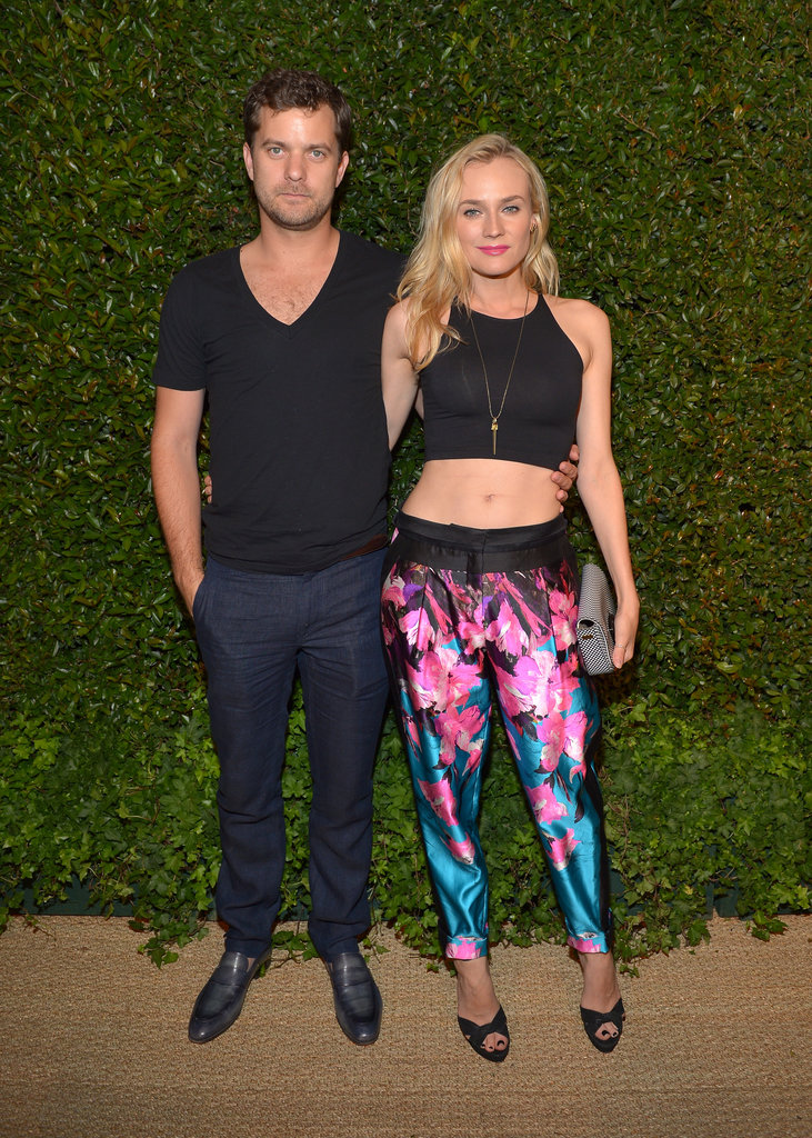 Joshua Jackson and Diane Kruger attended the Vogue and MAC Cosmetics dinner.