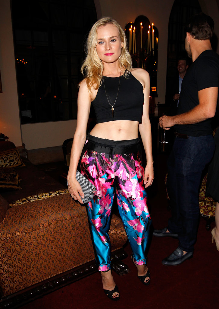 Diane Kruger attended the Vogue and MAC Cosmetics dinner.