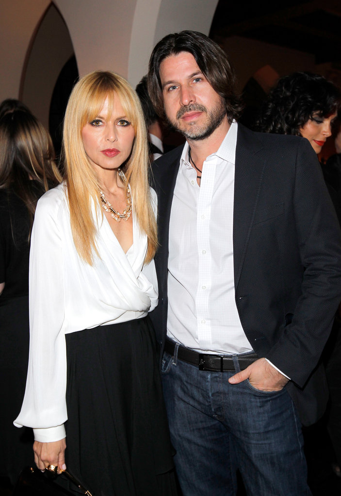 Rachel Zoe and Rodger Berman attended the event at the Chateau Marmont.