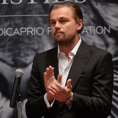 Leonardo DiCaprio and Christie's Art Auction Pictures