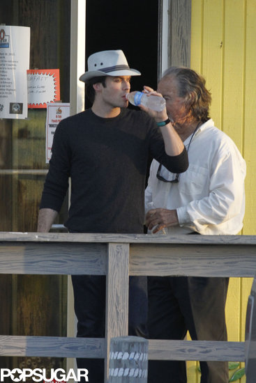 Ian Somerhalder Resurfaces Post Breakup in New Orleans