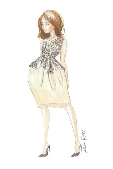Lela Rose for Kate Middleton Source: courtesy of designer via WWD