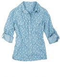 Delia's Light Floral Chambray Shirt ($30) is a pitch-perfect spinoff on a Summer classic.