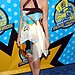 Kate epitomized California cool, donning a geometric Missoni dress at the 2003 MTV Movie Awards.