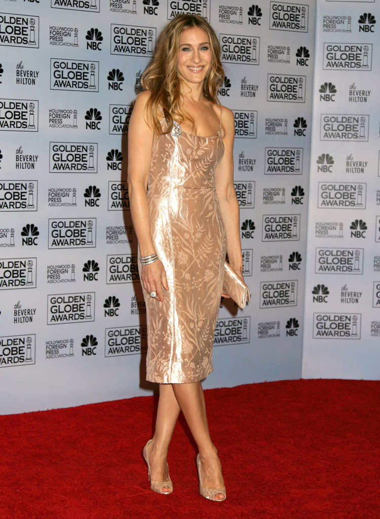 SJP sizzled in a glistening L'Wren Scott number at the 2007 Golden Globe Awards in Beverly Hills.