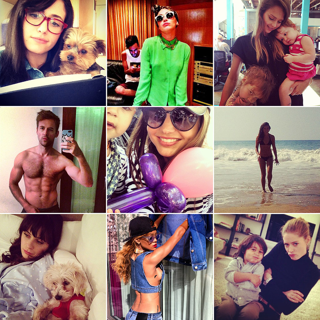Family Fun, Sexy Selfies, and More of the Week's Cutest Candids