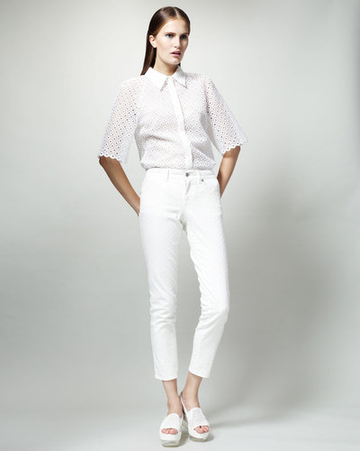 Stella McCartney Skinny White Jeans