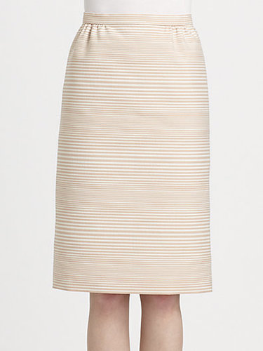 Marc Jacobs Degrad Stripe Jacquard Skirt