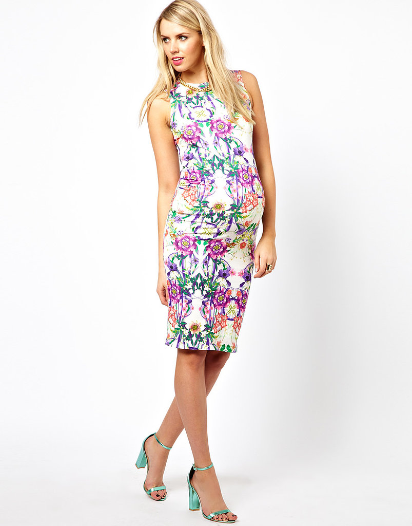 ASOS Body-Conscious Floral Dress