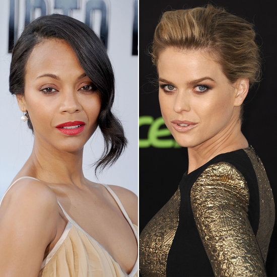 Zoe Saldana vs. Alice Eve: Whose Star Trek Red Carpet Beauty Wins?