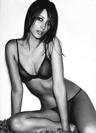 Christy Turlington Burns in the Calvin Klein Underwear Spring 2000 campaign.