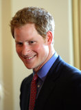 Prince Harry, who didn't seem to mind the attention, flashed a cute smile for his admirers in Washington.