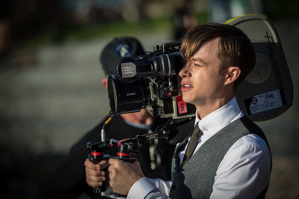 Dane DeHaan (aka Harry Osborn) handled the camera on the set of The Amazing Spider-Man 2. Source: Twitter user MarcW