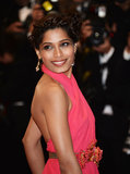 Freida Pinto wore a bevy of braids in her hair to create a striking woven updo at the Great Gatsby premiere in Cannes.