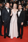 Carey Mulligan in Pale Pink Dior Gown