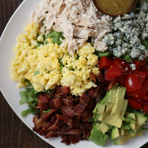 Cobb Salad With Red-Wine Vinaigrette
