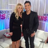 Britney Spears chatted with Mario Lopez backstage at KIIS FM's Wango Tango. Source: Instagram user britneyspears