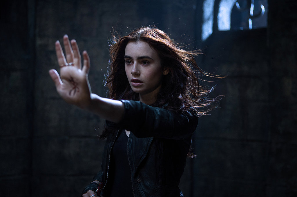 Lily Collins as Clary Fray She's already proven that she can do the princess thing as Snow White in Mirror Mirror, so we're excited to see Lily Collins take on a different kind of heroine in The Mortal Instruments: City of Bones — a half-angel responsible for protecting the human race. No big deal.