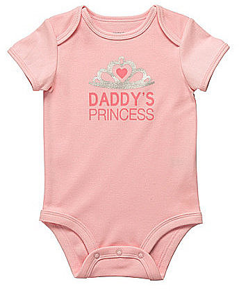 "Carter ́s Newborn ""Daddy ́s Princess"" Bodysuit"