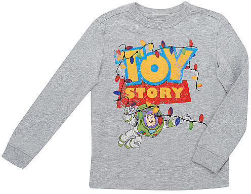 Babies R Us Disney Long Sleeve Toy Story Shirt - Gray