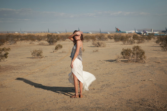 Kate Bosworth for Topshop Festival Summer 2013 campaign, shot by fiancé Michael Polish in Mono Lake, CA.
