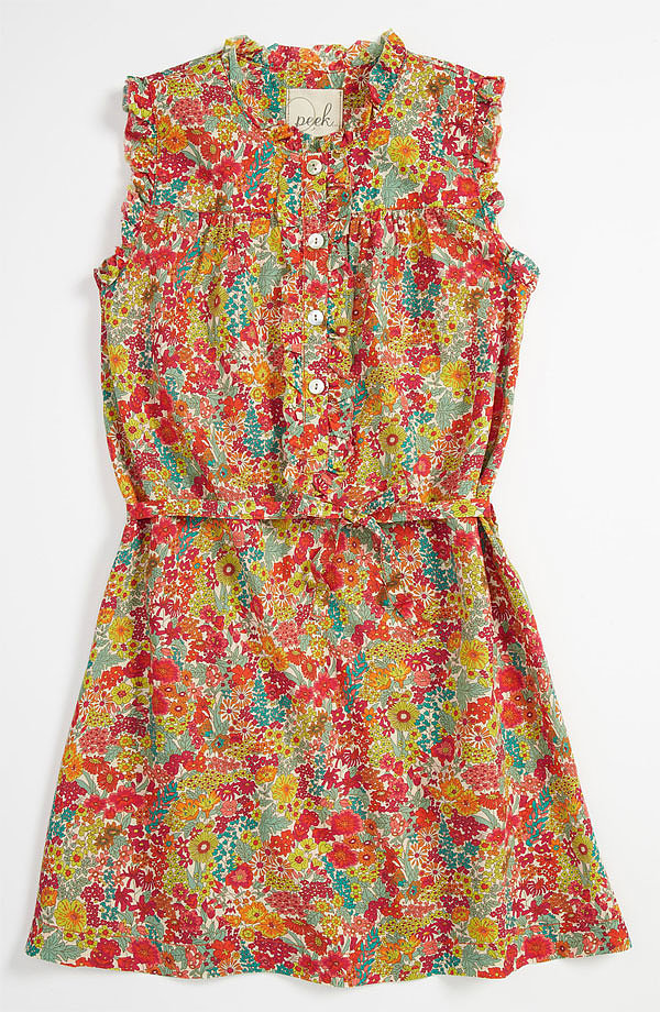 Peek's Liberty print Kinsey dress ($68) is a cheery pick for Summer.