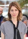 Director Sofia Coppola attended the photocall of her film The Bling Ring with her signature lob styled in textured waves.