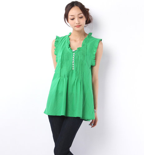   (ATOLL PALME)EMBROID SLVLESS TUNIC