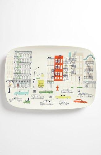 Kate Spade New York 'hopscotch Drive About Town' Oblong Platter