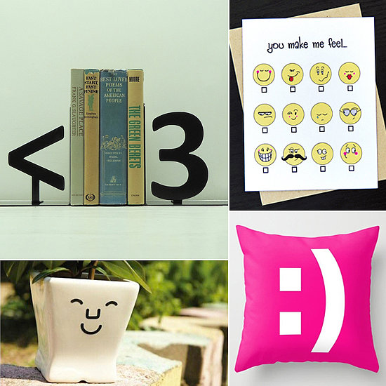 13 Fun Emoticon Finds to Put a :) on Your Face