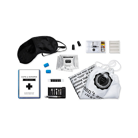 Going to college — and even leaving it — can be a tough transition for some. But this fully loaded Pinch Provisions College Survival Kit ($25), will help your recent high school graduate glide through the most awkward situations, like rowdy roommates (earplugs) and decorating (poster adhesive).