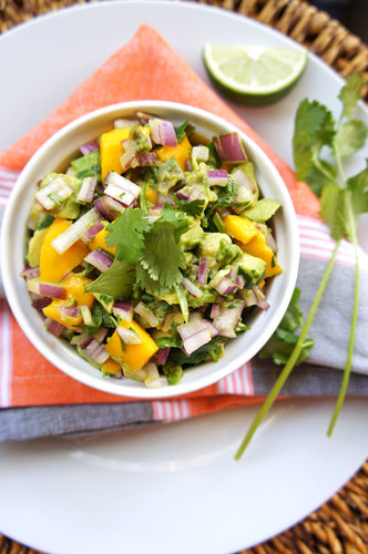 Pineapple Mango Avocado Salsa